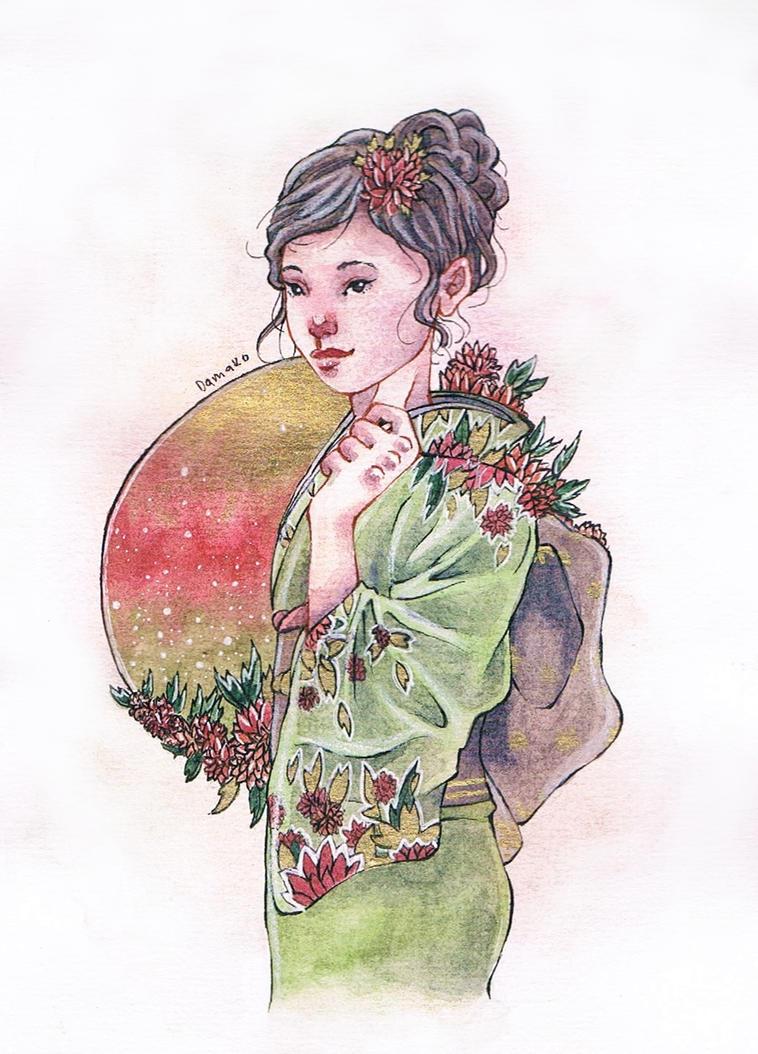 Kimono by Odamako