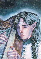 Beneath the stars of Varda by Odamako