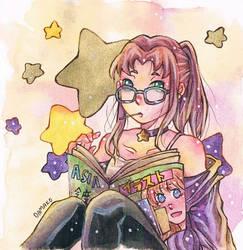 Casual Starfire by Odamako