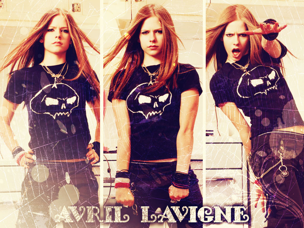 Avril Lavigne Wallpaper 7 By Ninarose On Deviantart