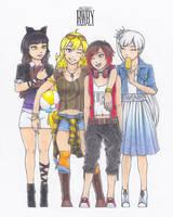RWBY Summer Contest 2015: Team RWBY - Summer Days
