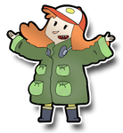 Saraline Timbers (Paper Mario Style) by vinhchaule