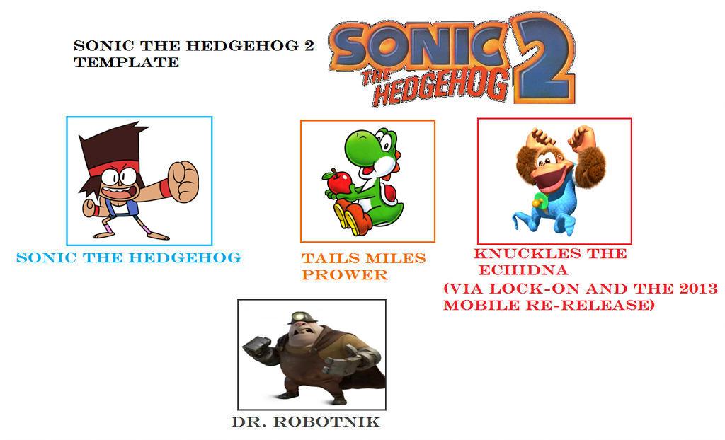 My Sonic The Hedgehog 2 Cast Meme By Vinhchaule On Deviantart
