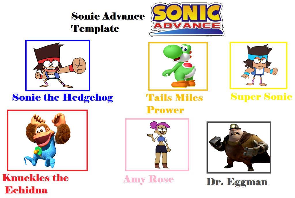 My Sonic Advance Cast Meme By Vinhchaule On Deviantart
