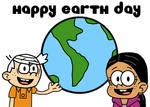 Earth Day - Lincoln Loud and Ronnie Anne Santiago