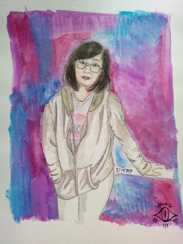 Pretty woman  by Arningkingking