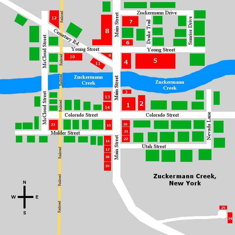 Zuckermann Creek by oldblueford