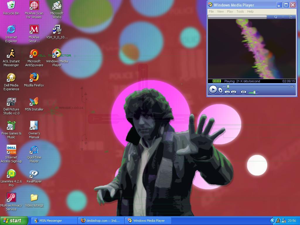 My new PC desktop by plif