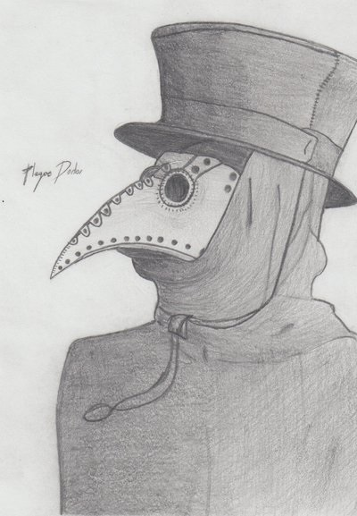 Plague Doctor Sketch by J6lvl99