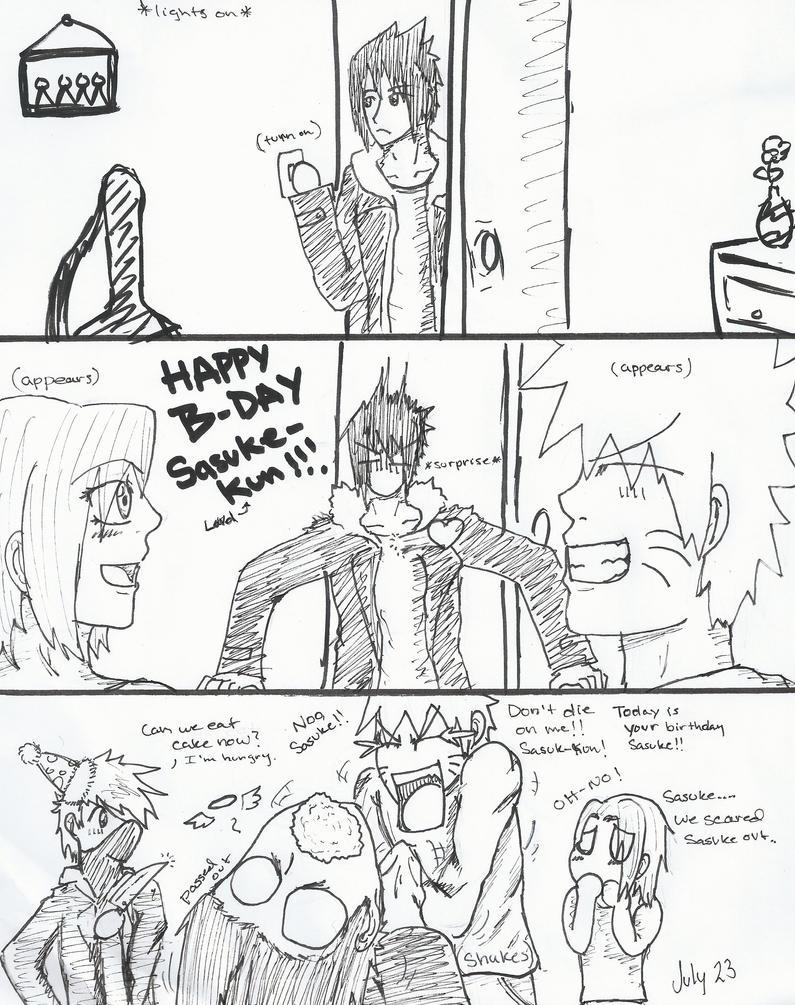 Sasuke's surprise birthday by UchihaClanRock