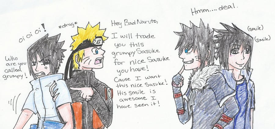 Let's trade Sasuke! by UchihaClanRock