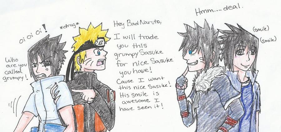 Let's trade Sasuke! by UchihaClanRock