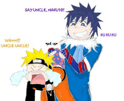 Say Uncle!~Menma/Naruto by UchihaClanRock