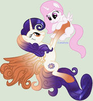 celestia and her mother