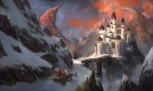 Mountain Castle by t-biddy