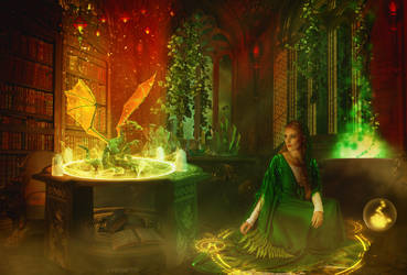 Medieval Magic by Fiendcute