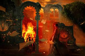 Bonfire by Fiendcute