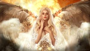Metal angel by Fiendcute