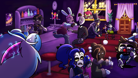 Bar Time by SkullHareStudios