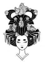Geisha cover by BettyBlackComics