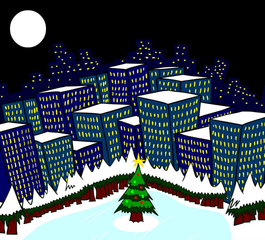 christmas city by megajamesstudios - Christmas City Studios