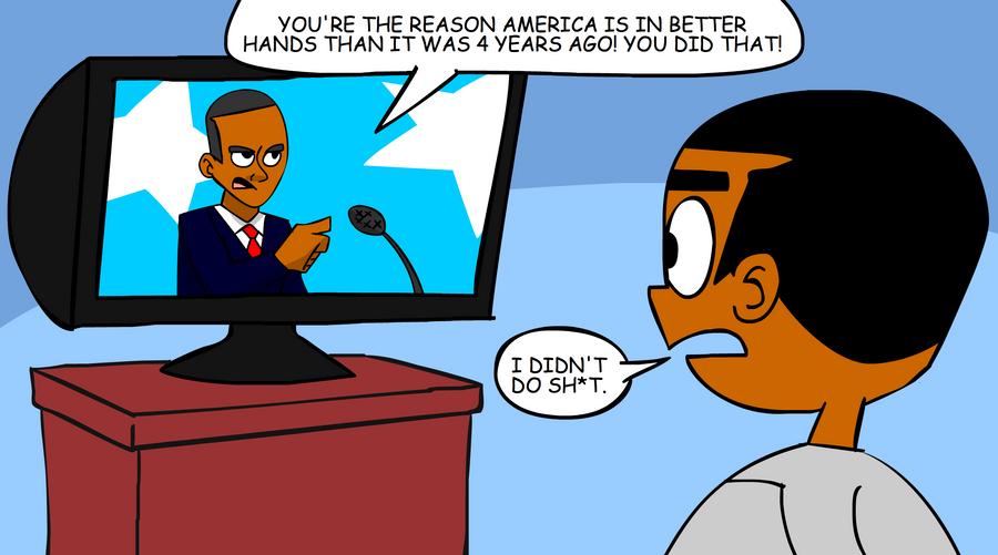 Political Cartoon by MegaJamesStudios