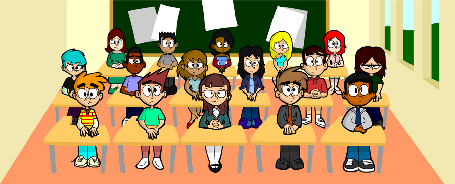 The Whole Class by MegaJamesStudios
