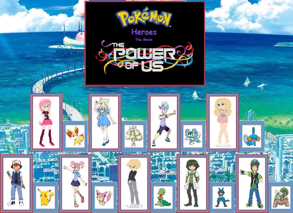 pokemon heroes full movie