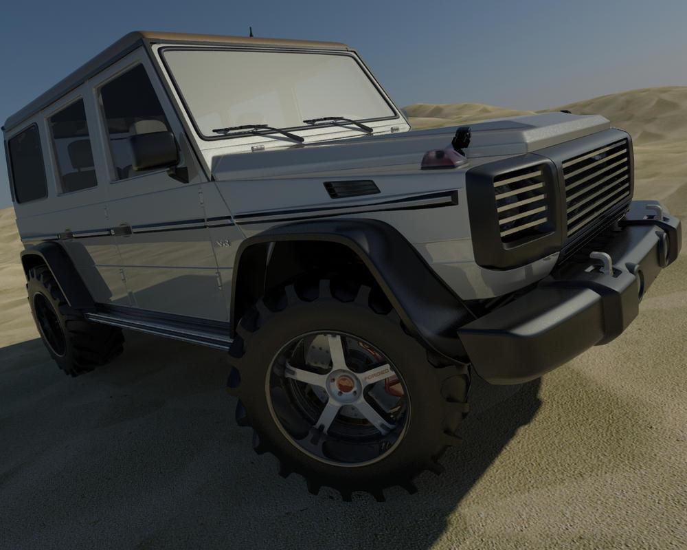 Mercedes g class custom by tofx on deviantart for Mercedes benz g class custom