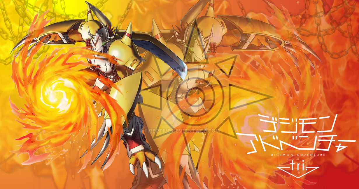 Anime Wallpaper FanMade Digimon WarGreymon by FiReptile on