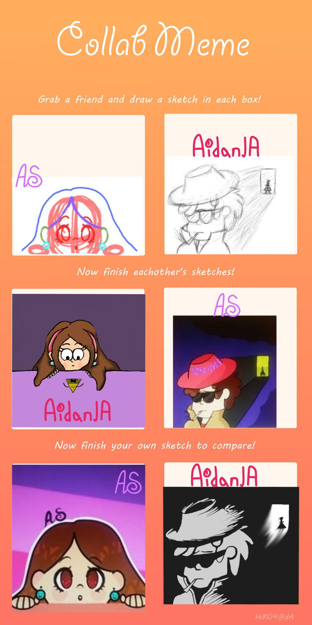 Friends Drawing Meme Thingy by OtakuTacooo