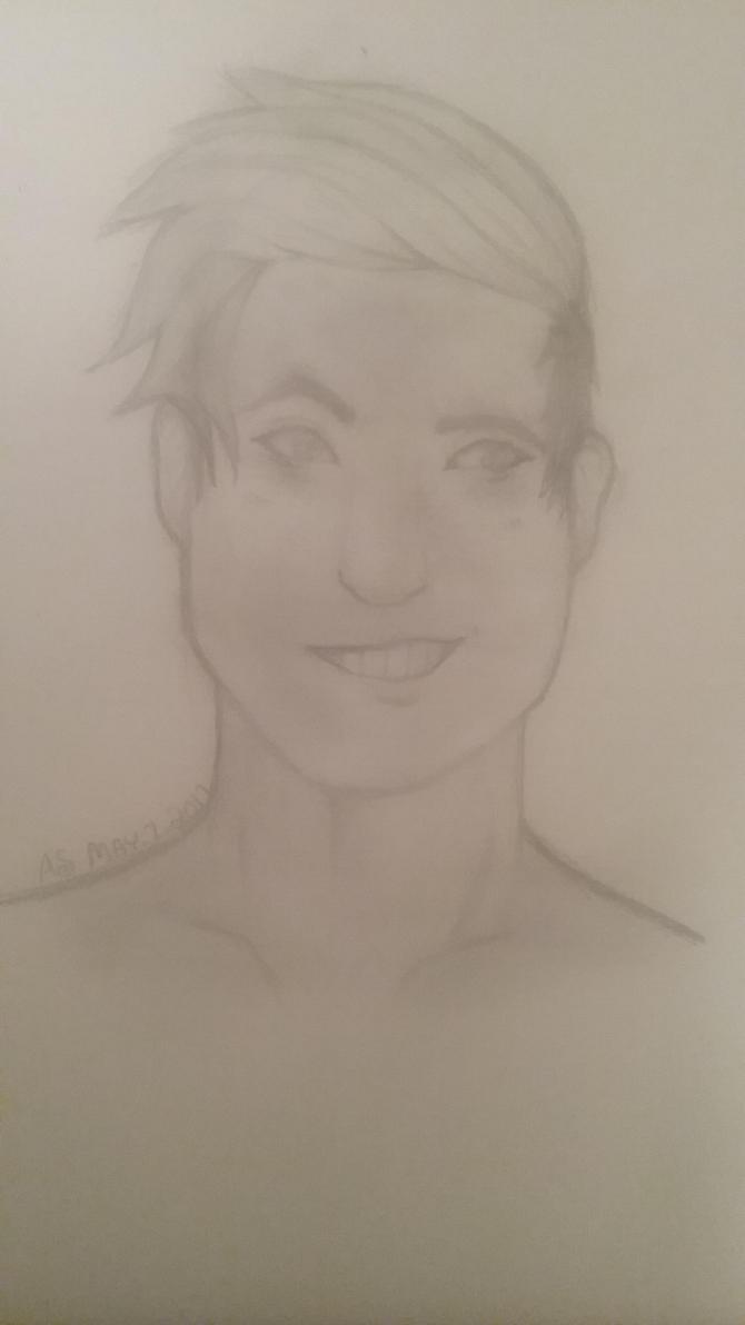 Male Sketch (it's like 2am send help) by OtakuTacooo