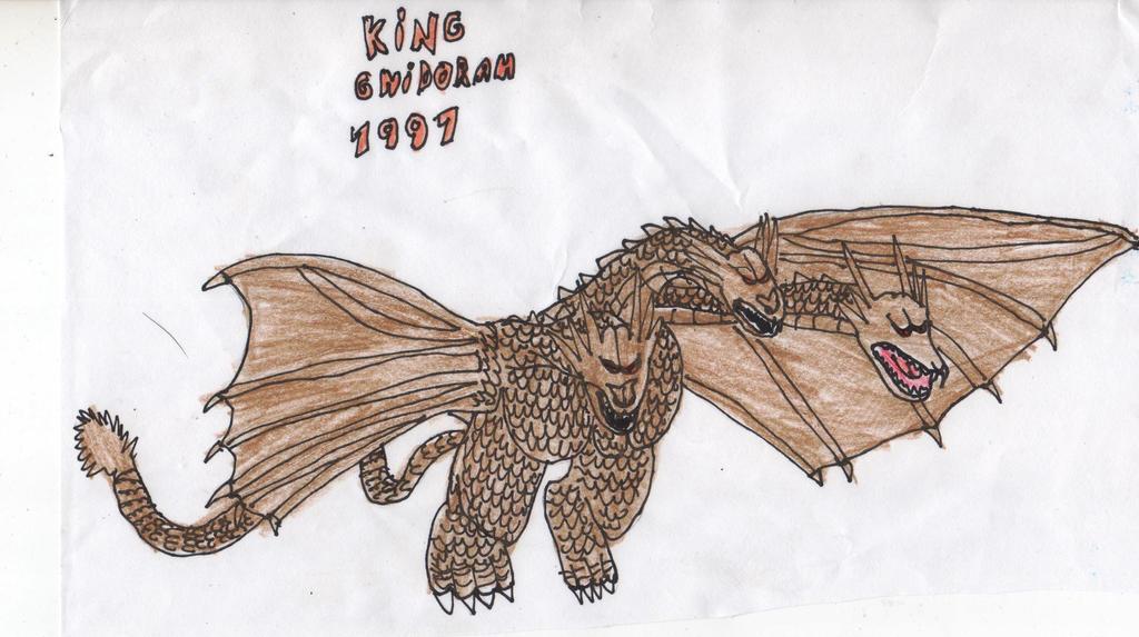 King Ghidorah 1991 by kaijukinggodzilla15 on DeviantArt