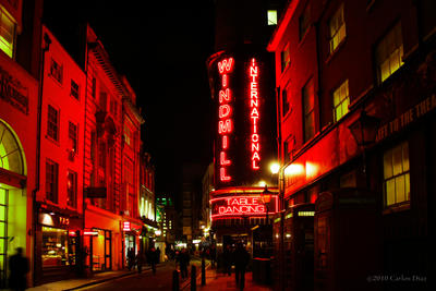 The Windmill Theatre, Soho. by catinthebobblehat