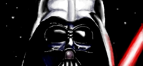 Darth Vader graffiti by trancebam