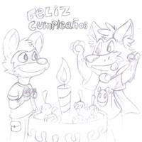 happy birthday art and biro