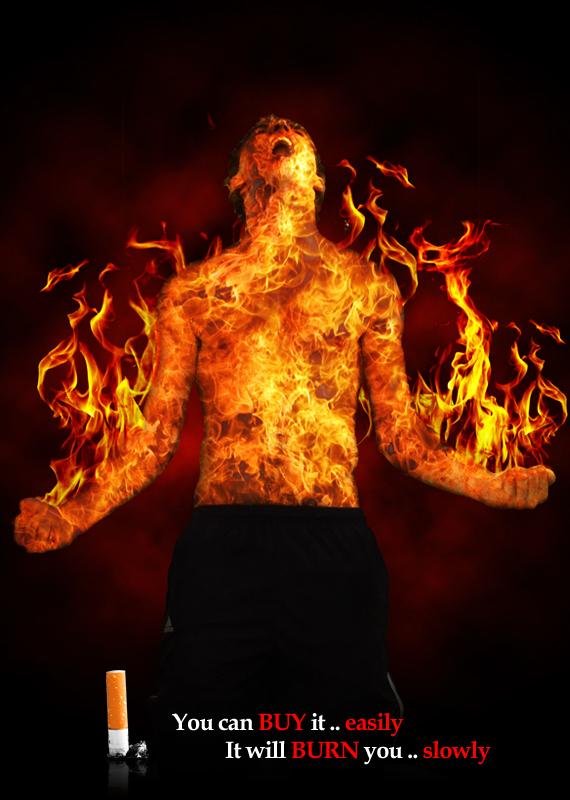 Fire Man by formalART