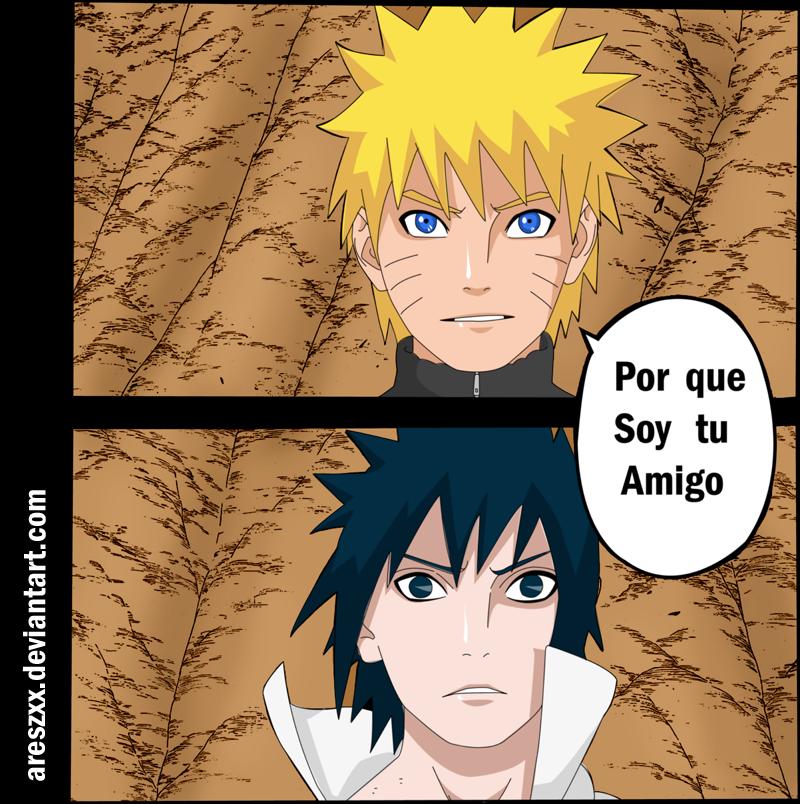 Naruto Manga 486 -soy Tu Amigo By AresZxx On DeviantART