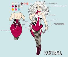 Fantisma character sheet
