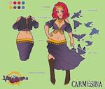 Carmesina Character Sheet