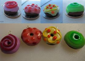 4 Pretty Donuts by setsuna22