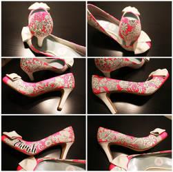 Custom Shoes- Tarah by setsuna22
