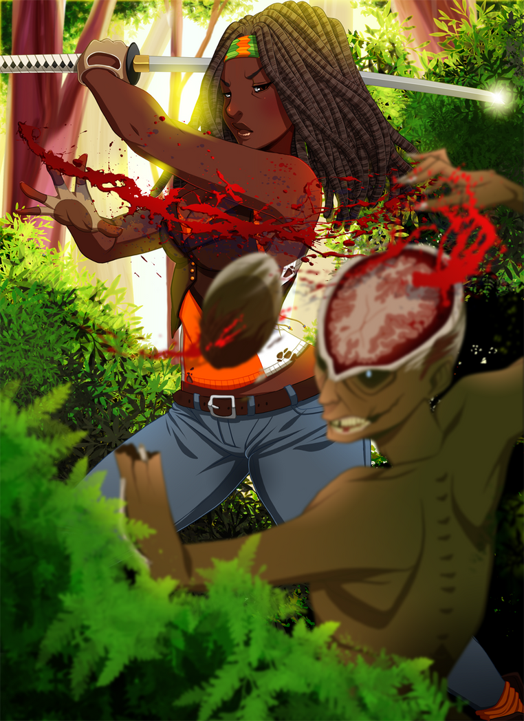 Michonne by setsuna22
