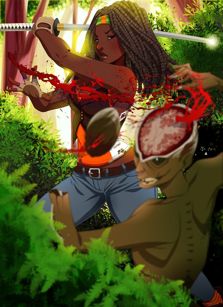 Michonne by setsuna22