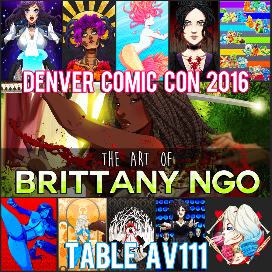 Denver Comic Con 2016 by setsuna22