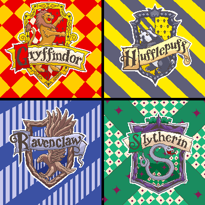 Harry Potter Houses By Setsuna22 ...