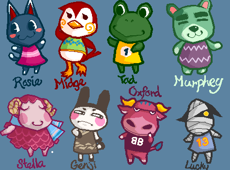 Animal Crossing by setsuna22