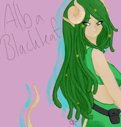 Alba blackleaf fanart by MileenaSelemon
