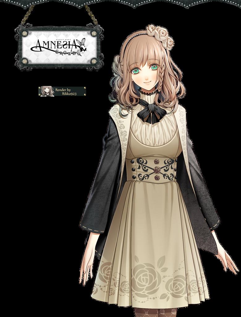 Character Design Game Anime : Amnesia heroine render by rikku on deviantart