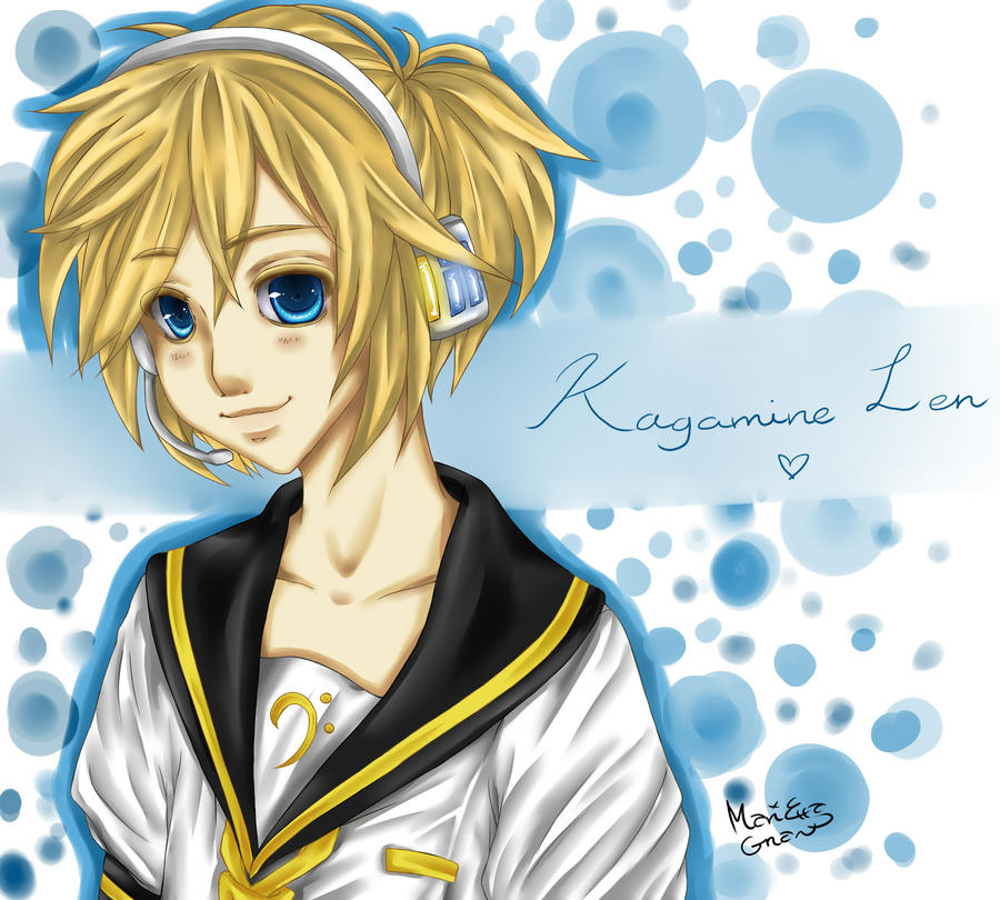 Kagamine Len - Gift for Syao9 by LittleMissEl
